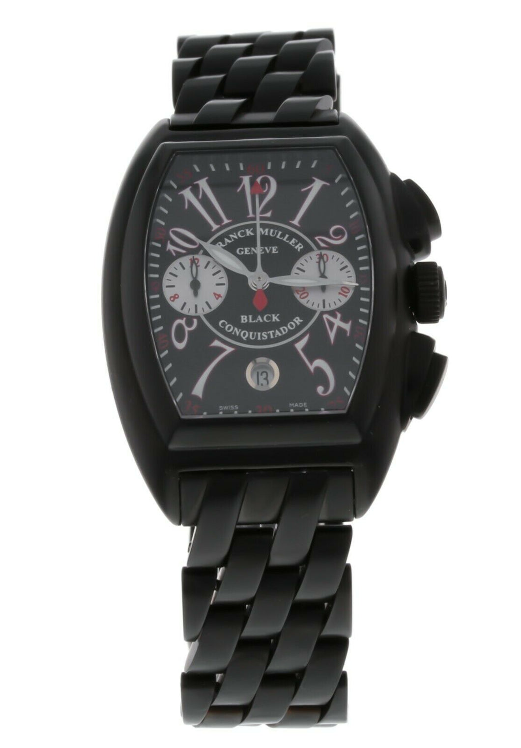 Franck Muller Conquistador Chronograph Steel Automatic Mens Watch 8005 H CC NR