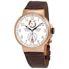 Ulysse Nardin Marine Chronometer 18k Rose Gold Men's 43mm Watch 1186-126-3/61
