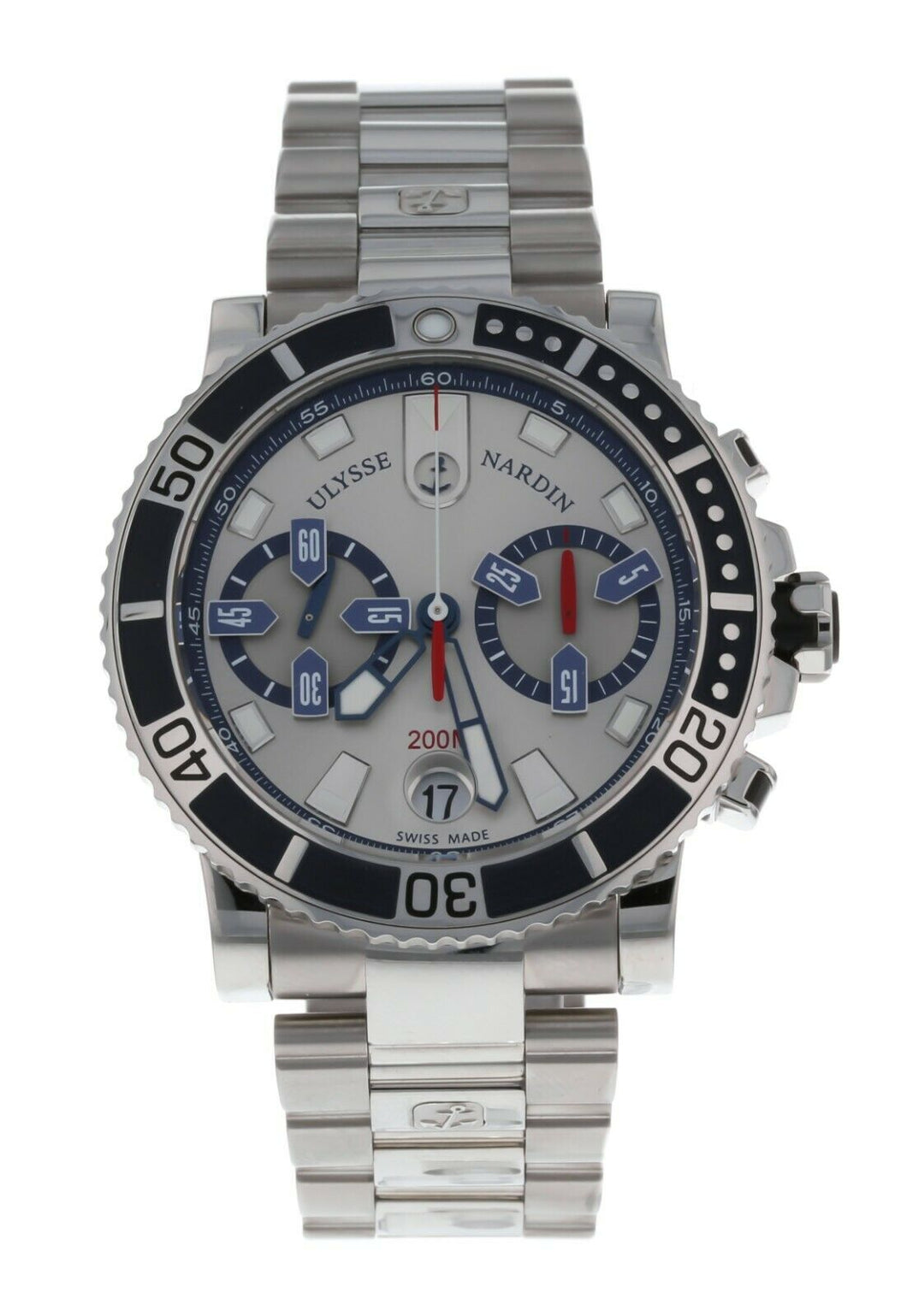 Ulysse Nardin Maxi Marine Diver Chronograph Automatic Men's Watch 8003-102-7/91