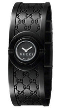 Gucci Twirl Black Dial And Stainless Steel Ladies Watch YA112531