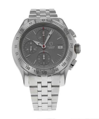 Tudor Chronautic Stainless Steel Chronograph Automatic 41mm Men's Watch 79380P