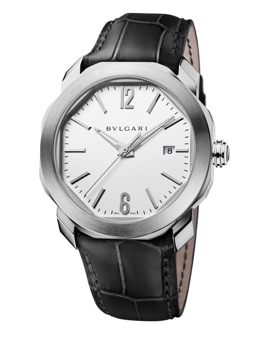 Bulgari Octo Roma Men's 41mm Automatic Stainless Steel Watch 102779