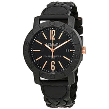 Bvlgari Carbon Gold 40mm Automatic Men's Black Dial Watch 102632