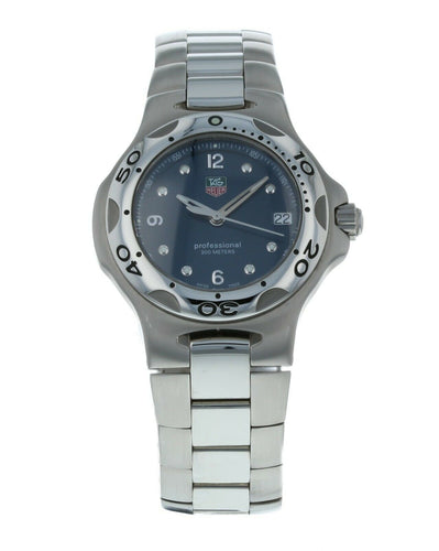 Tag Heuer Kirium 36mm Quartz Blue Dial Stainless Steel Watch WL1213.BA0705