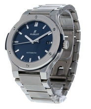 Hublot Classic Fusion Automatic Blue Dial Men's 45mm Watch 510.NX.7170.NX