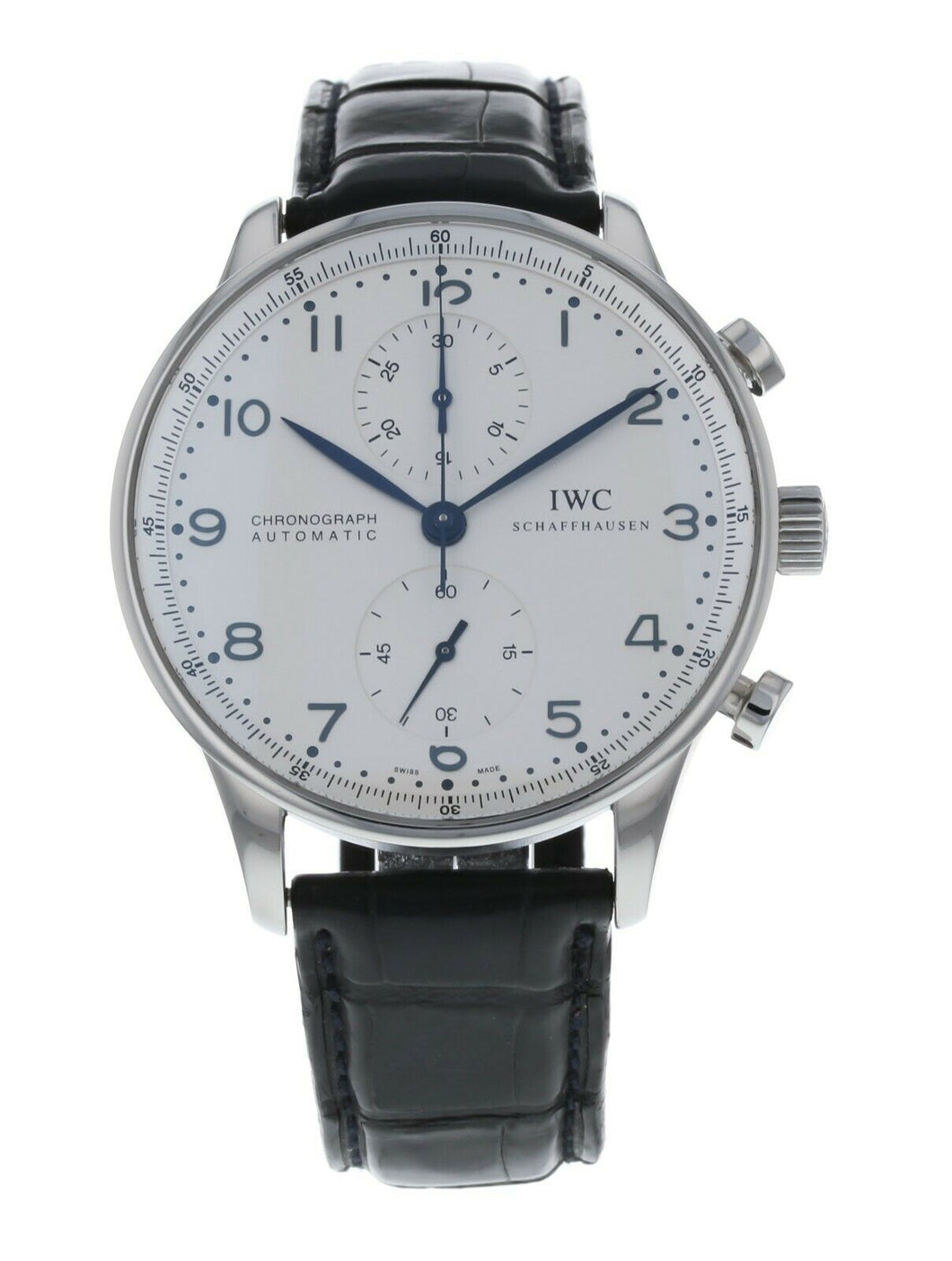 IWC Portuguese Chronograph Automatic Stainless Steel Men's Watch IW371417