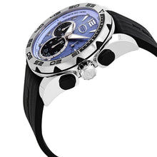 Parmigiani Fleurier Pershing 005 Chronograph Automatic Blue Dial Men's Watch