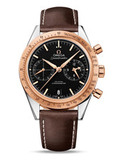 Omega Speedmaster '57 Omega Co?axial Chronograph 41.5MM 18k Gold & Steel Watch