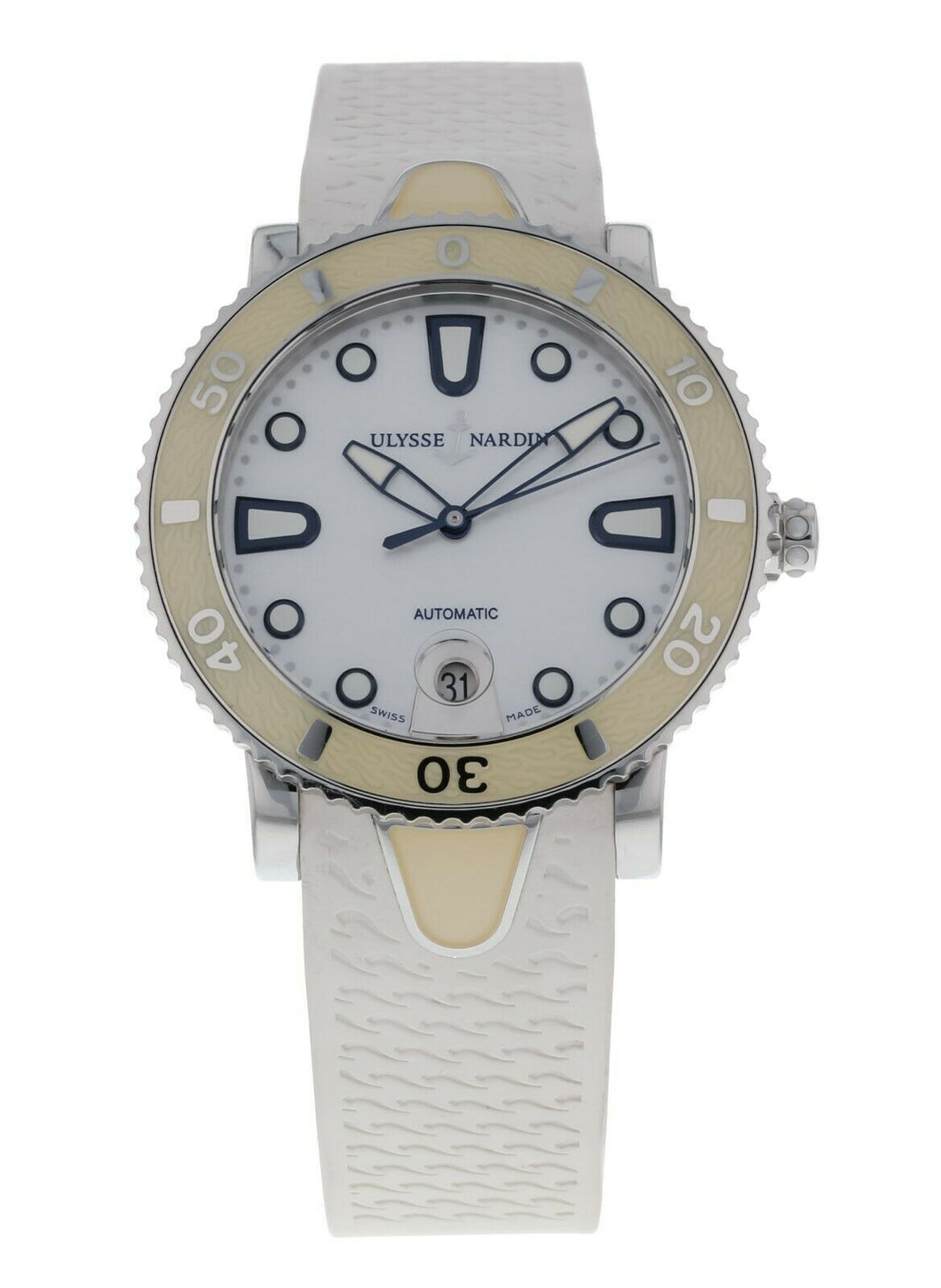 Ulysse Nardin Lady Marine Diver Automatic 40mm Ladies Watch 8103-101