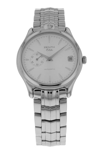 Zenith Elite Automatic 36mm Men's Stainless Steel Watch 90/02 0040 680