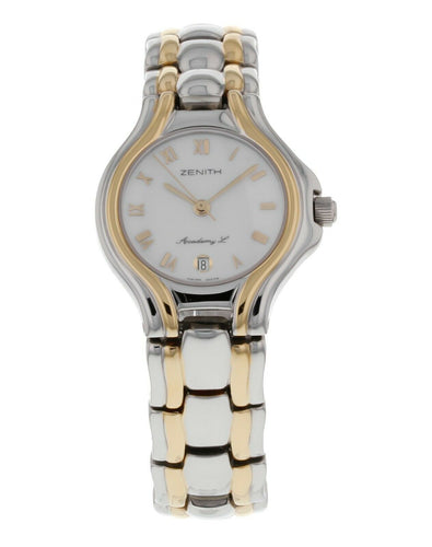 Zenith Academy L Ladies Two-Tone 26mm Quartz Watch 01/59-3200.106