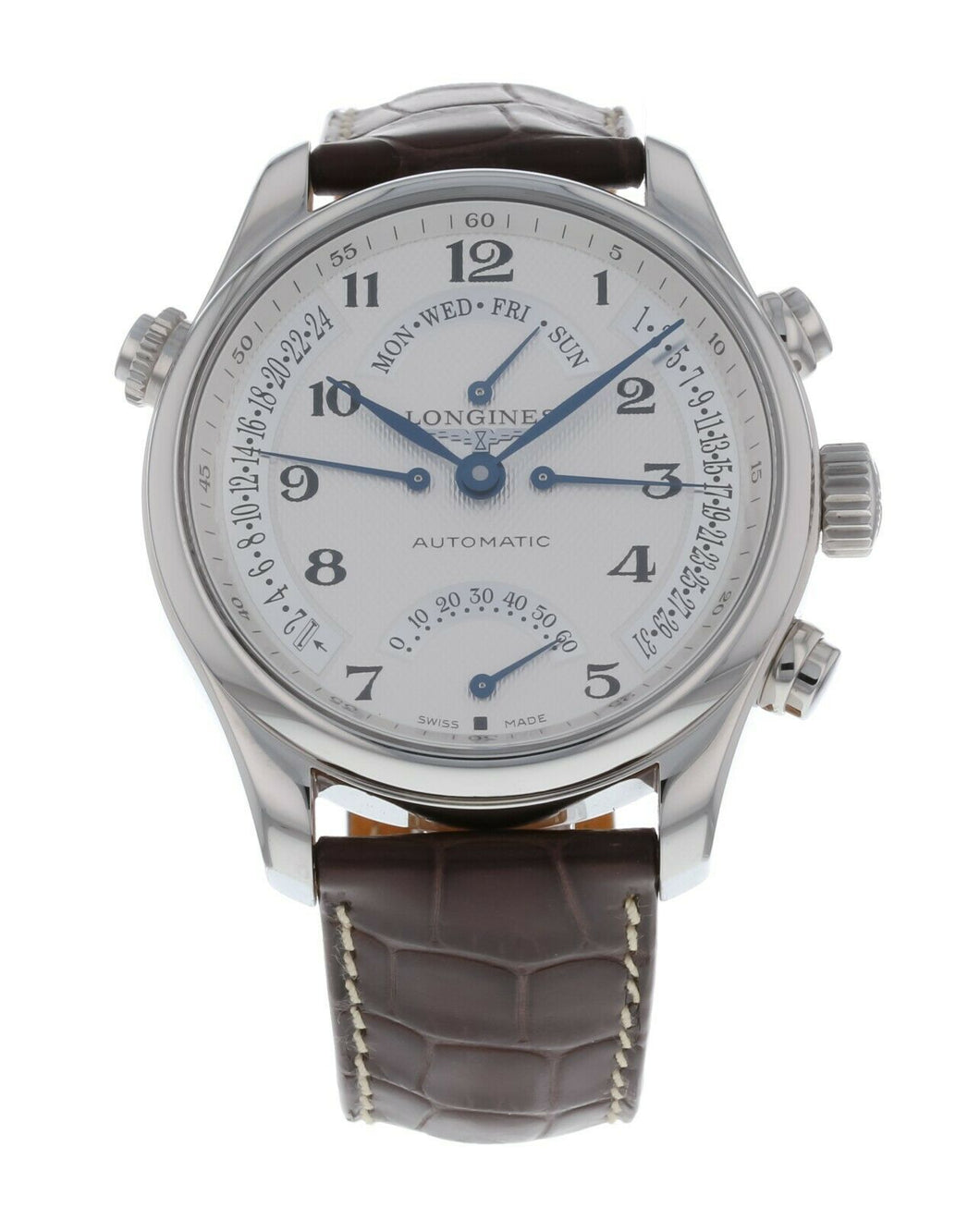 Longines Master Retrograde 44mm Men's Automatic Stainless Steel Watch L27174783