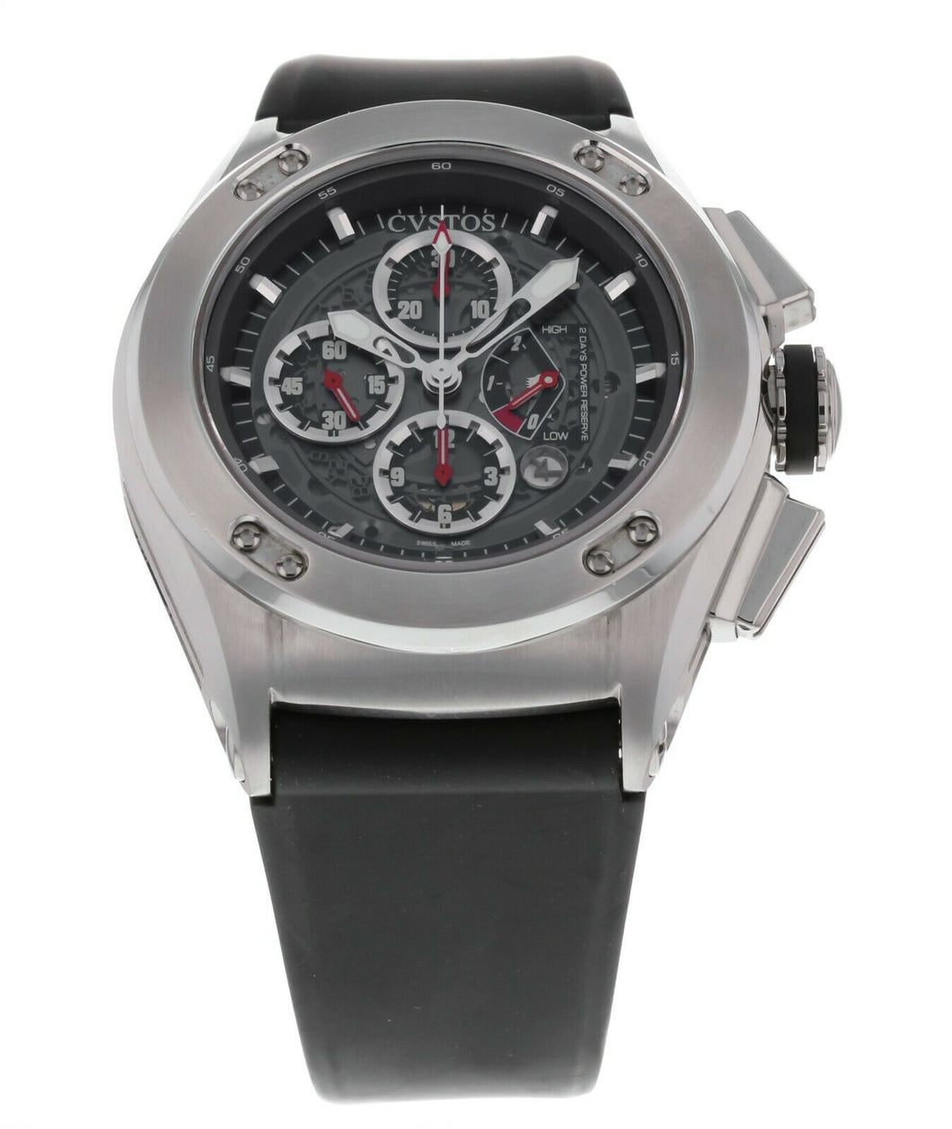 Cvstos Challenge-R 50 Chronograph Men's 50mm Automatic Open-Worked Watch