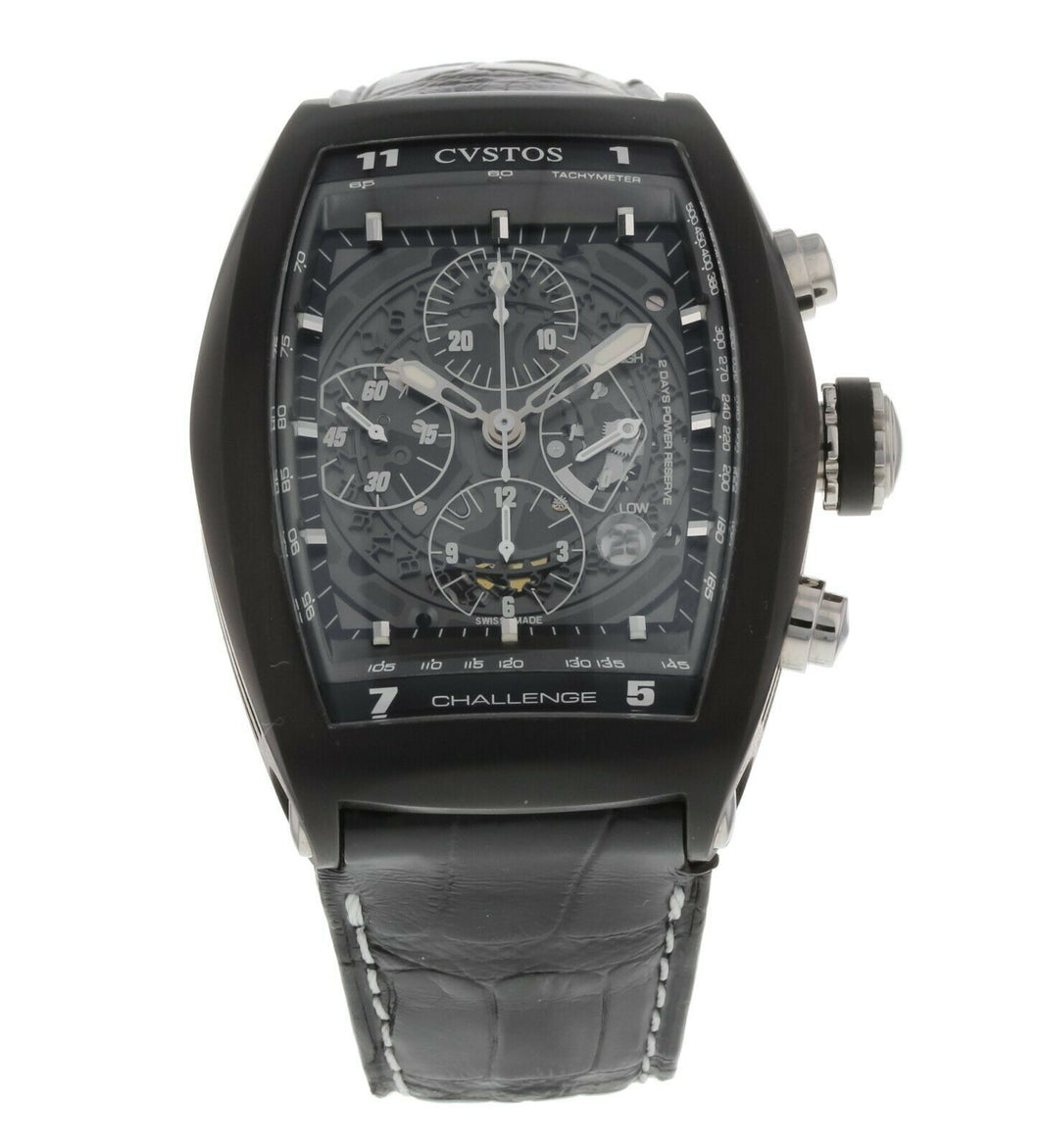 Cvstos Challenge Chronograph Automatic Men's Open-Worked Watch