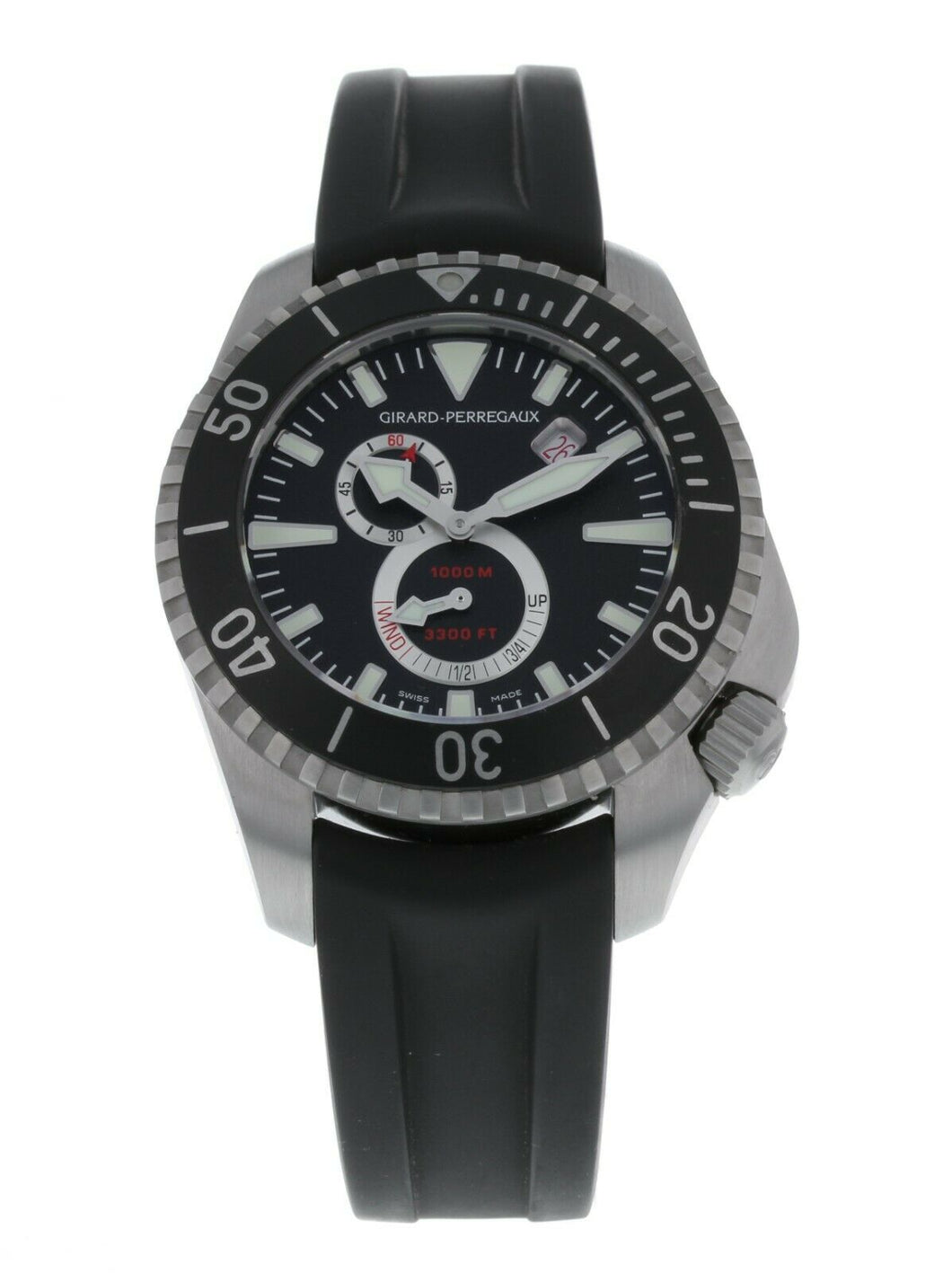Girard Perregaux Sea Hawk Pro 1000m Men's 44mm Automatic Watch 49950-19-632-FK6A