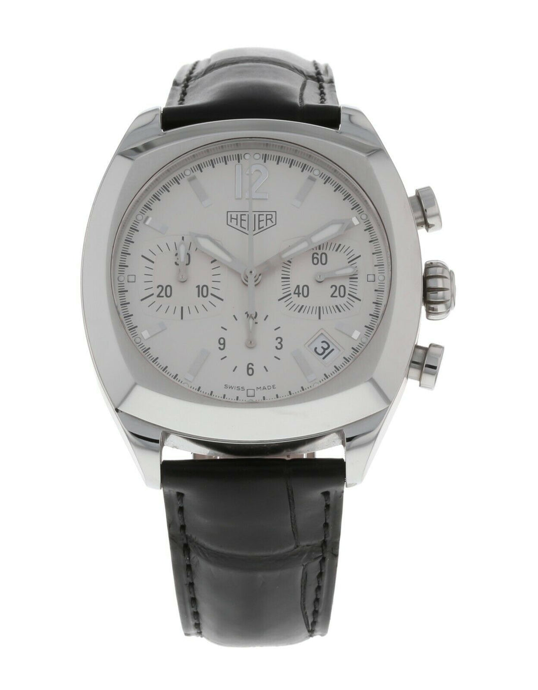 Tag Heuer Monza 38mm Automatic Chronograph Men's Watch CR2111.FC6161