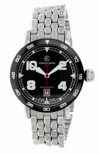 Chronoswiss TimeMaster Automatic Black Dial Men's 44mm Watch CH-8643B/S0-2