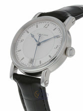 Chronoswiss Sirius 34mm Automatic Leather Strap Watch CH-2093-SI/11-1