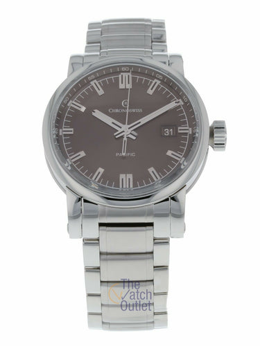 Chronoswiss Grand Pacific Automatic Men's 40mm Watch CH-2883-BR/S0-2