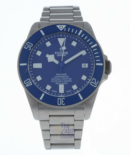 Tudor Pelagos Chronometer Automatic Blue Dial Men's 42mm Watch 25600TB