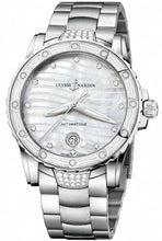 Ulysse Nardin Lady Diver Diamond MOP Dial Ladies 40mm Automatic Watch 8153-180E
