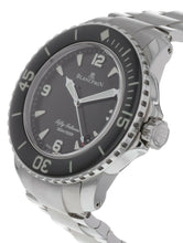 Blancpain Fifty Fathoms Black Dial Automatic Men's 45mm Watch 5015-1130-71S