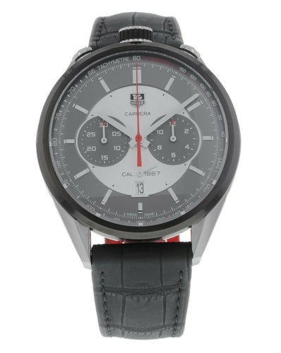 Tag Heuer Carrera Chronograph Calibre 1887 Jack Heuer Edition 45mm  Men's Watch