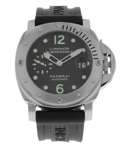 Panerai Luminor Submersible PAM 24 Automatic 44mm Men's Dive Watch PAM00024