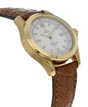 Omega Seamaster 18k Yellow Gold Ladies 28.5mm Quartz Watch 2671.20.00
