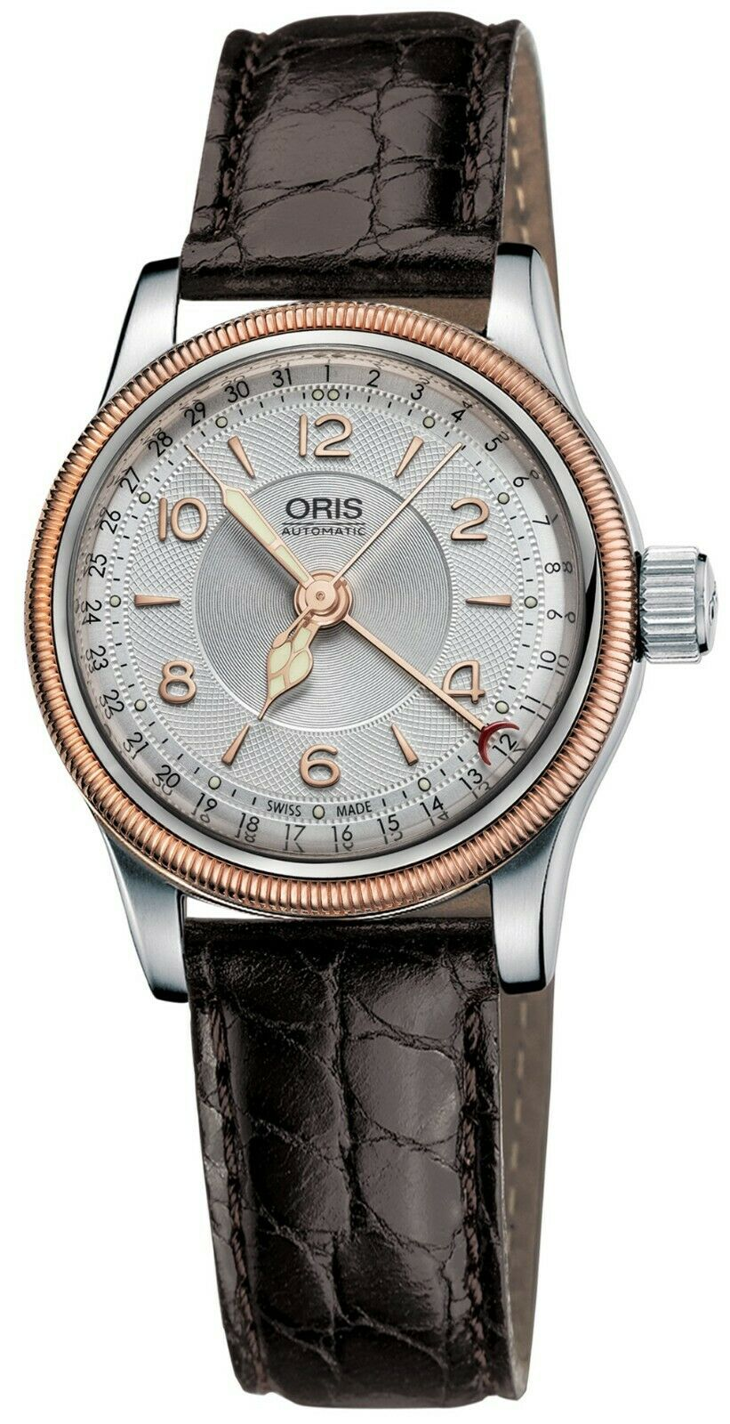Oris Big Crown Pointer Date Ladies Automatic 29mm Watch 01 594 7695 4361