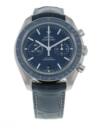 Omega Speedmaster Moonwatch Blue Dial Mens Chronograph Watch 311.93.44.51.03.001
