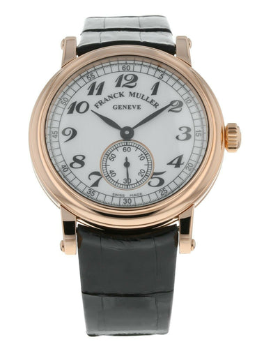 Franck Muller Liberty 18k Rose Gold Manual-Wind Men's 39mm Watch 7391 B S6 VIN