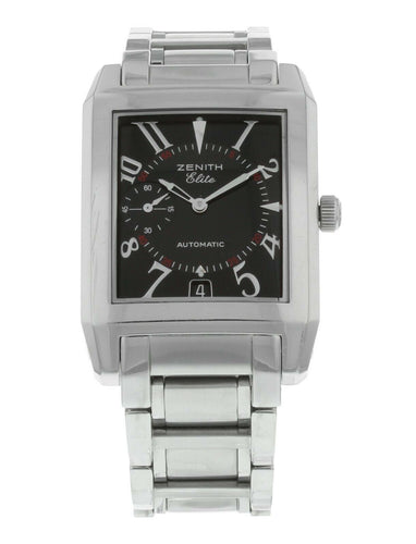 Zenith Port Royal Rectangle Automatic Stainless Steel Men's Watch 02.0250.684