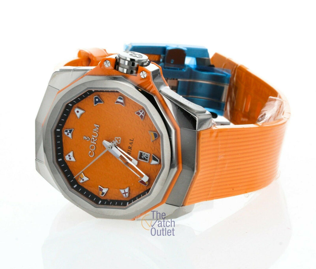 Corum Admiral AC-ONE 45 Orange Men's Automatic Watch - Limited to 28 Pieces