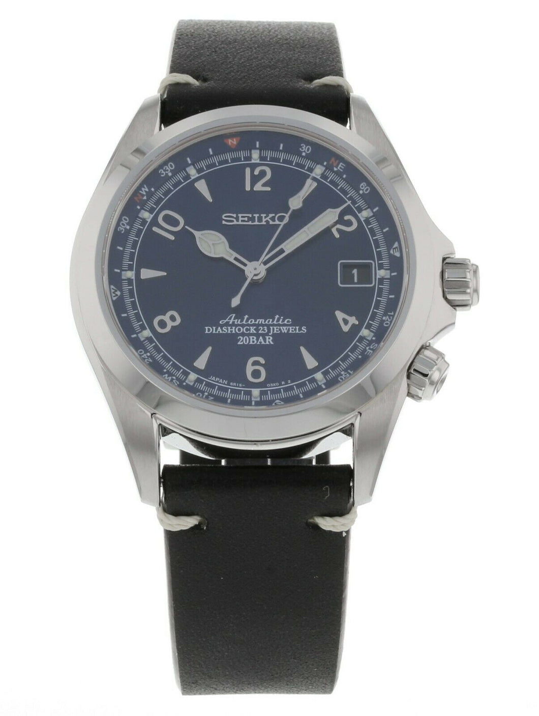 Seiko U.S. Limited Edition Alpinist Blue Dial Automatic Men's Watch SPB089