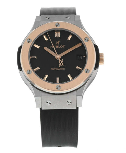 Hublot Classic Fusion 38mm 18k Rose Gold & Titanium Watch 565.NO.1181.RX