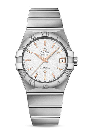 Omega Constellation Co-Axial 38mm Automatic Men's Watch 123.10.38.21.02.002