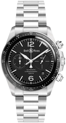 Bell & Ross Vintage V2-94 Chronograph Automatic Men's Watch BRV294-BL-ST/SST