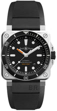 Bell and Ross Diver Automatic Men's 42mm Watch BR0392-D-BL-ST/SRB