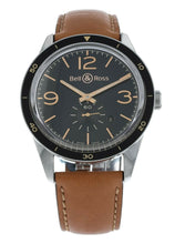 Bell & Ross Golden Heritage Automatic Men's 43mm Watch BRV123-GH-ST/SCA