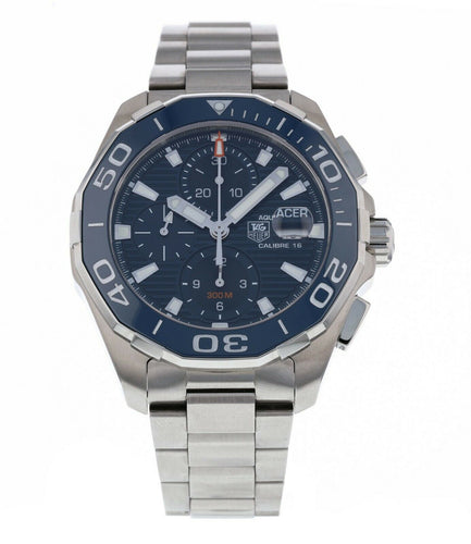 Tag Heuer Aquaracer Chronograph Automatic Steel Men's 43mm Watch CAY211B.BA0927