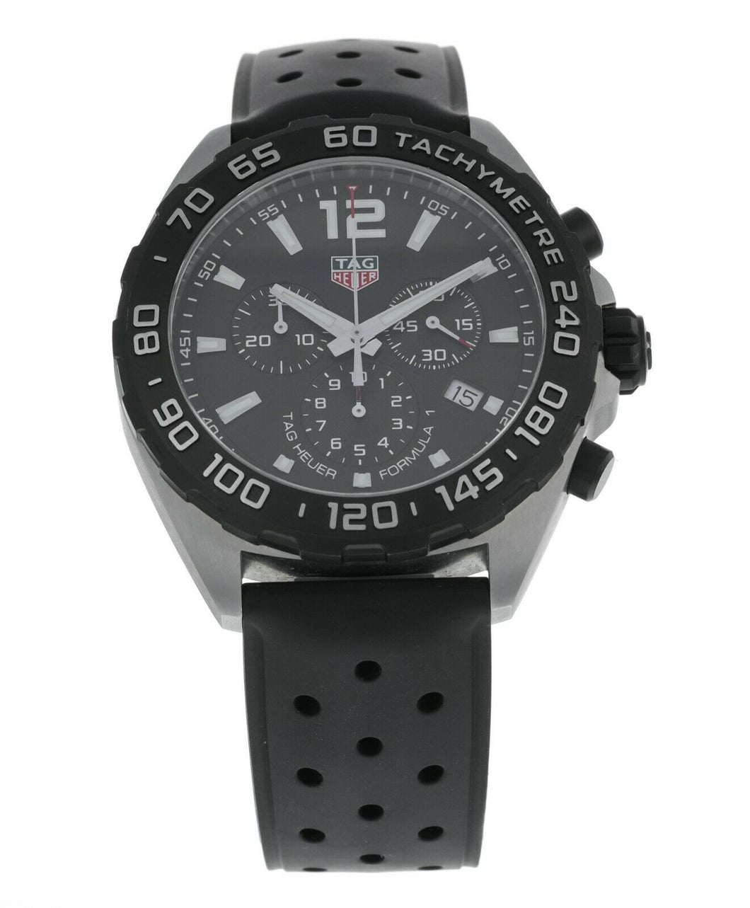 Tag Heuer Formula 1 Chronograph Black Dial Men's 43mm Watch CAZ1010.FT8024