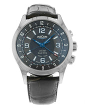 Vulcain Cricket Aviator Dual Time Alarm Men's 42mm Hand-Wind Watch 100133.211LF