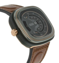 SevenFriday M-Series Gunmetal Grey Dial Automatic Men's Leather Watch M2B/01