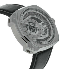 Sevenfriday Q-Series Automatic Grey Dial Men's Watch Q1/01
