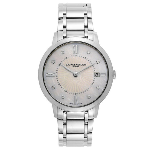 Baume & Mercier Classima Executives Diamond 36mm Ladies Watch MOA10225