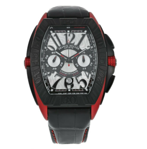 Franck Muller Conquistador Grand Prix Chronograph Automatic Men's Watch 9900 CC
