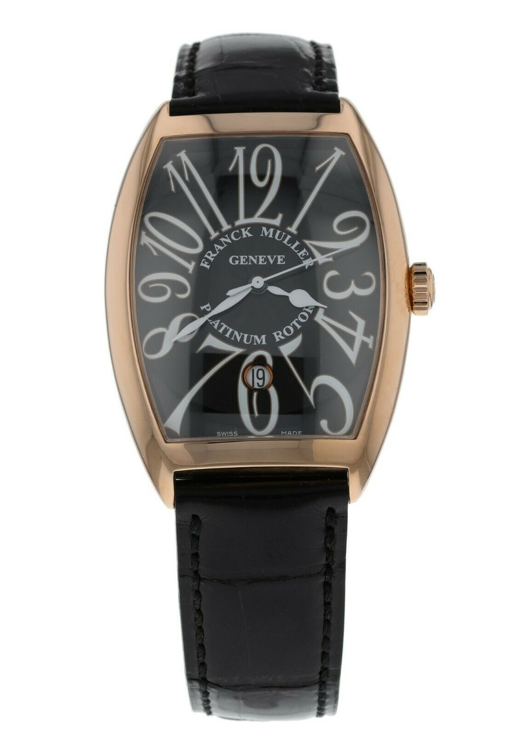 Franck Muller Cintree Curvex Automatic 18k Rose Gold Men's Watch 6850 B SC DT VA