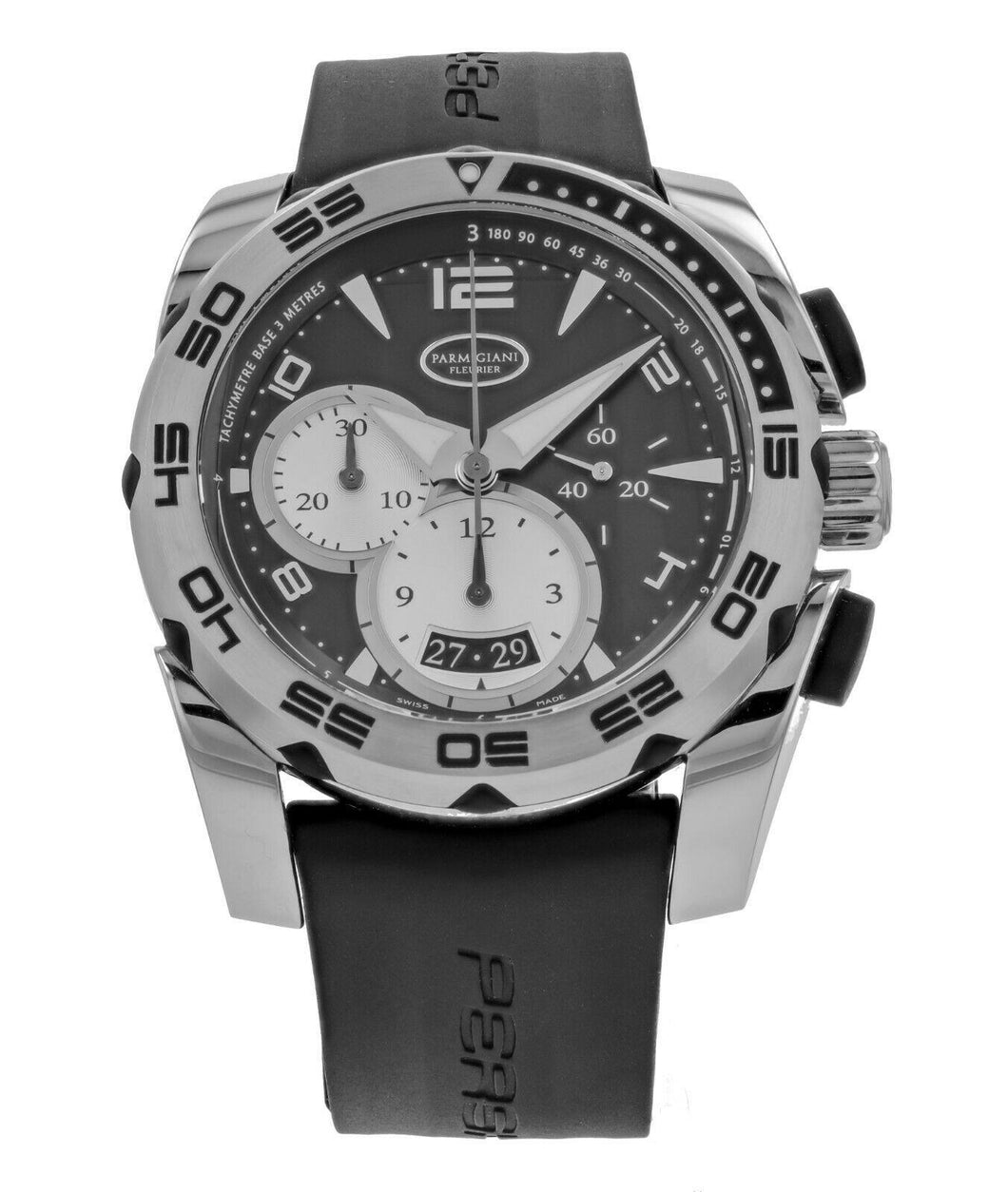 Parmigiani Pershing 005 45mm Chronograph Men's Automatic Watch PF601396-06
