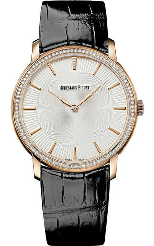 Audemars Piguet Jules Audemars 18k Rose Gold Extra-Thin 41mm Diamond Men's Watch